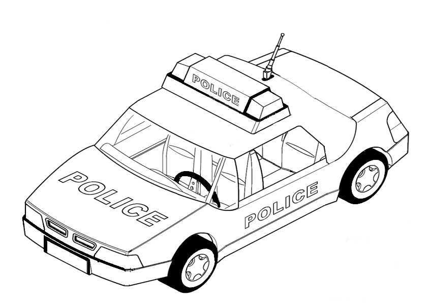 Erfreut Ausmalbilder Polizei Jeep Fotos - Framing Malvorlagen ...