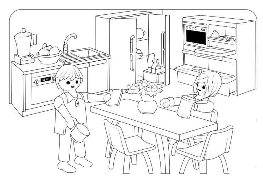malvorlagen playmobil | kinder ausmalbilder