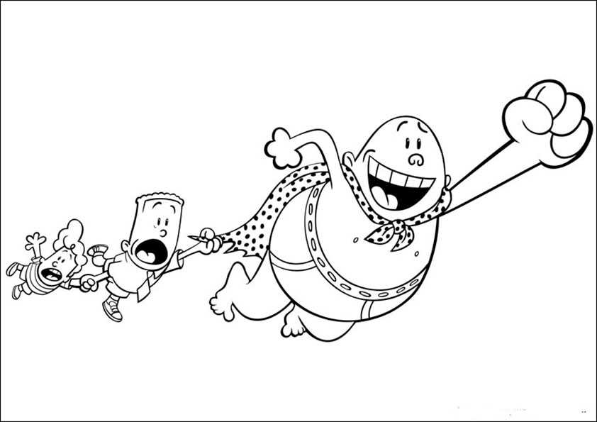 ausmalbilder captain-underpants-3