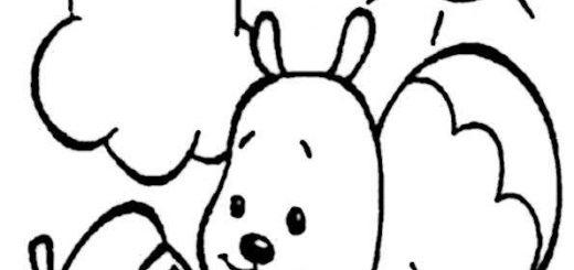 ausmalbilder eichhörnchen-12
