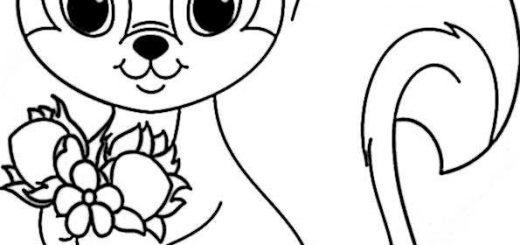 ausmalbilder eichhörnchen-8
