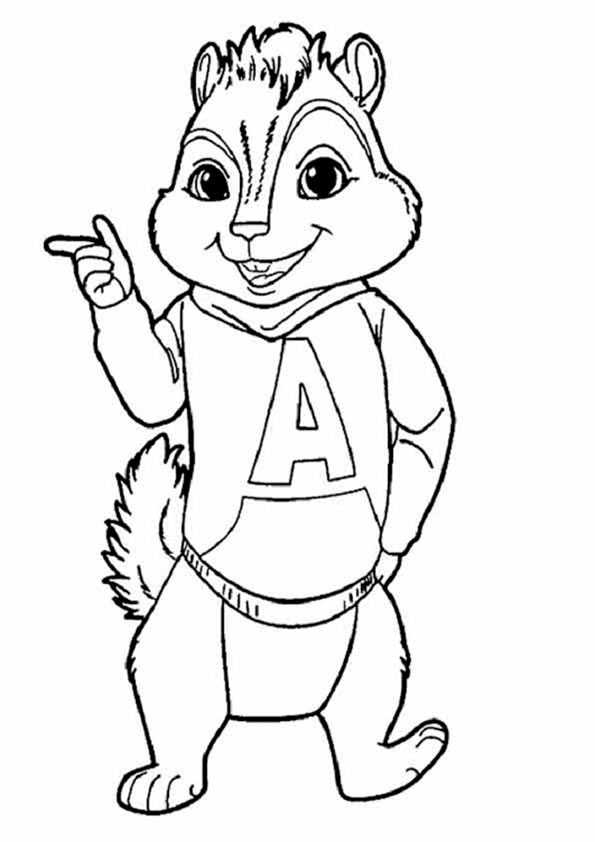 eichhörnchen-9   ausmalbilder malvorlagen