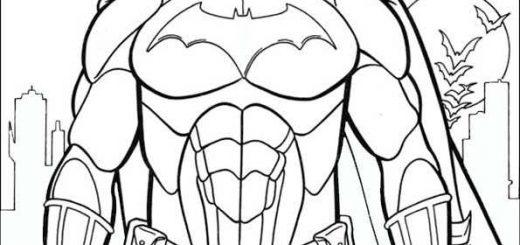 ausmalbilder batman -3