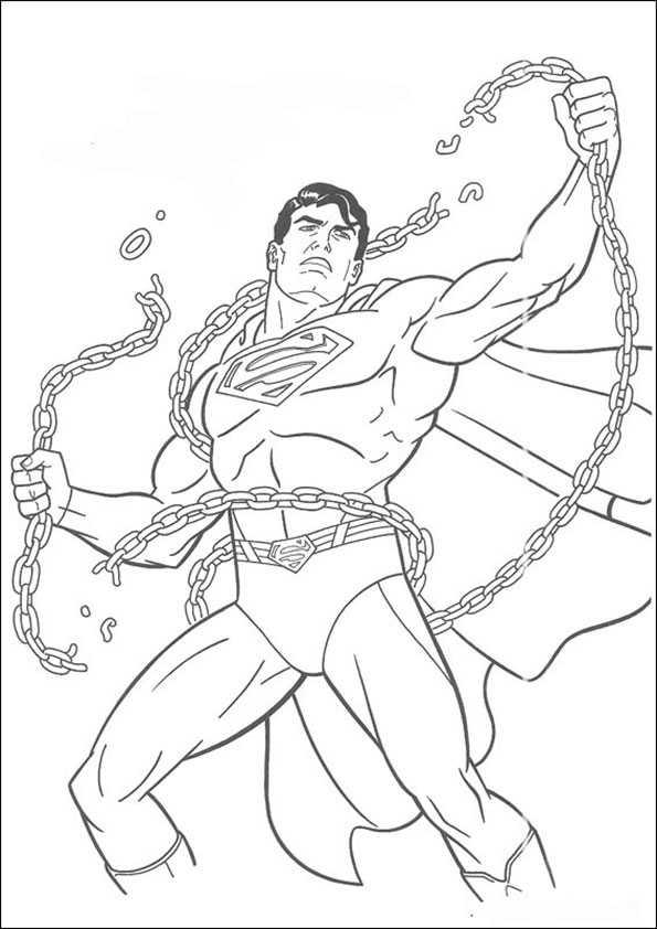ausmalbilder superman -10