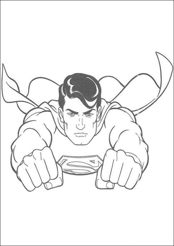 ausmalbilder superman -2