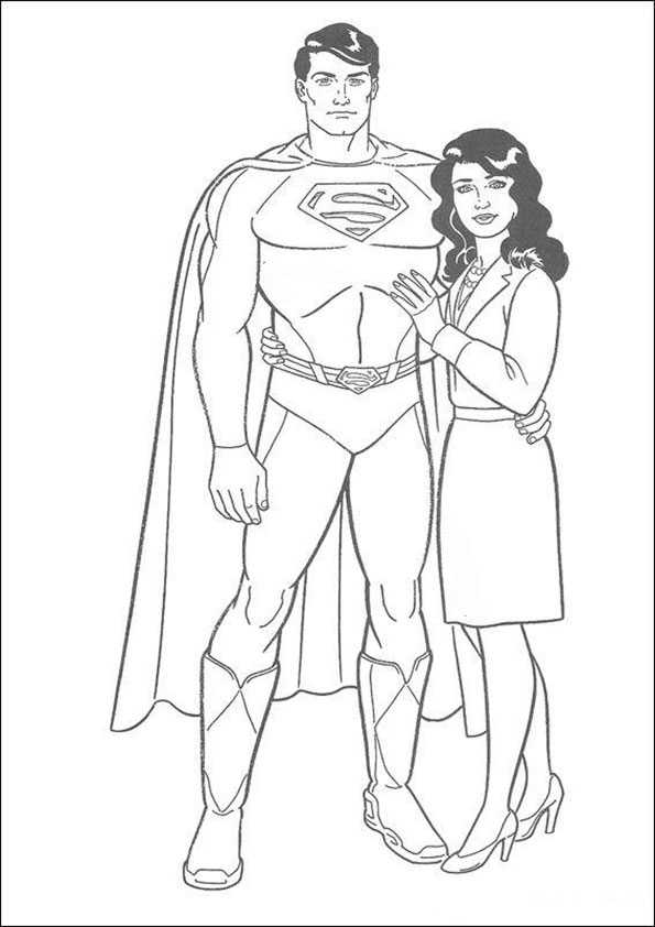 ausmalbilder superman -5