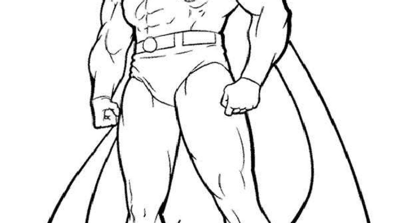 Superman 9 Ausmalbilder Malvorlagen