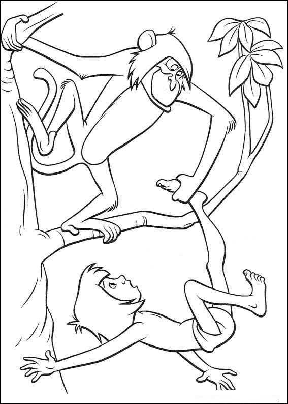 ausmalbilder das dschungelbuch -10