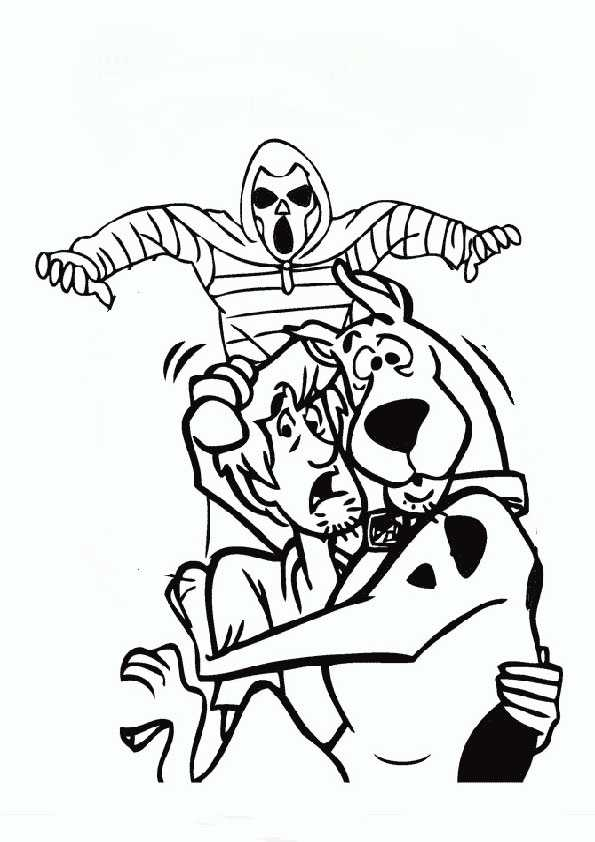 ausmalbilder halloween -67