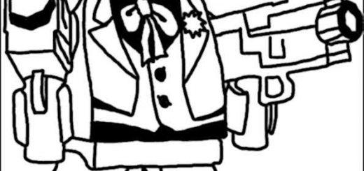 ausmalbilder lego helden-5