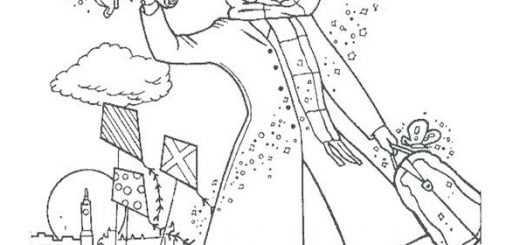 ausmalbilder mary poppins-1