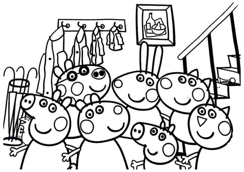 ausmalbilder peppa pig-29