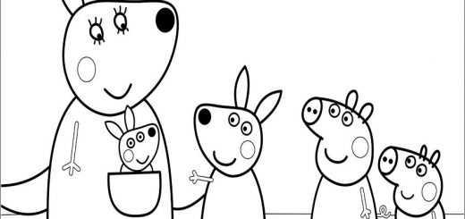 ausmalbilder peppa pig -33