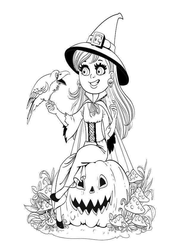 ausmalbilder halloween-74