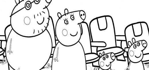 ausmalbilder peppa pig -40