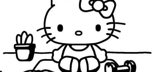 ausmalbilder hello kitty-78