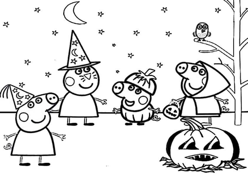 ausmalbilder  halloween -91
