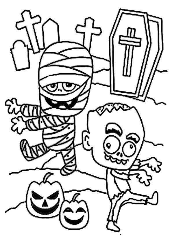 ausmalbilder  halloween -96