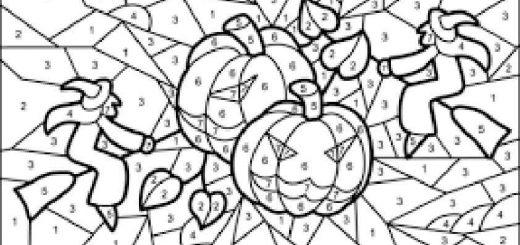 ausmalbilder halloween -99