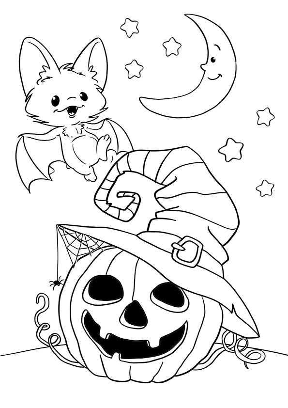 ausmalbilder  halloween -98