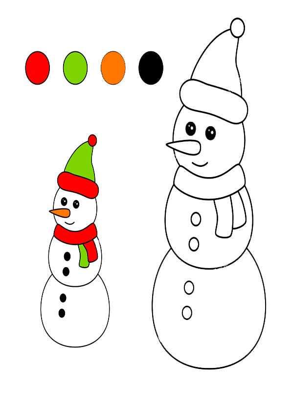 ausmalbilder weihnachten -152