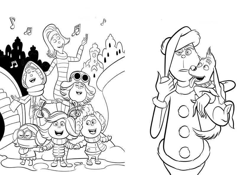 ausmalbilder weihnachten -153