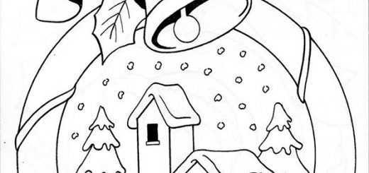 ausmalbilder weihnachten -155