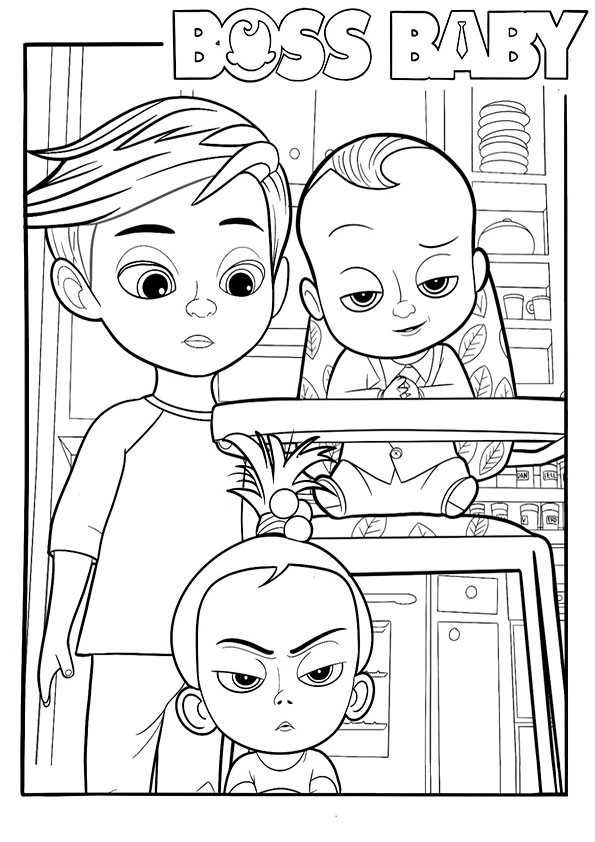 The boss baby-4t